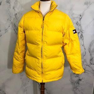 Tommy Hilfiger Jackets Coats Yellow Puffer Jacket Poshmark